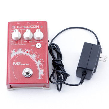 TC Helicon Mic Mechanic  Vocal Effects Pedal P-07520