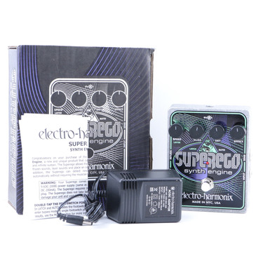 Electro-Harmonix SuperEgo Synth Engine Guitar Effects Pedal P-07537