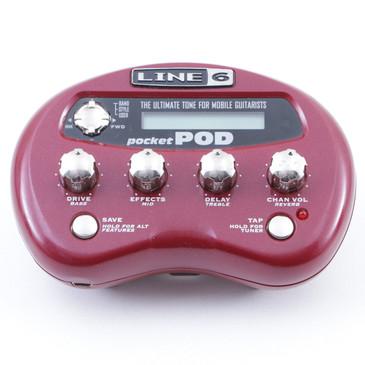Line 6 Pocket Pod Guitar Multi-Effects Processor P-07531