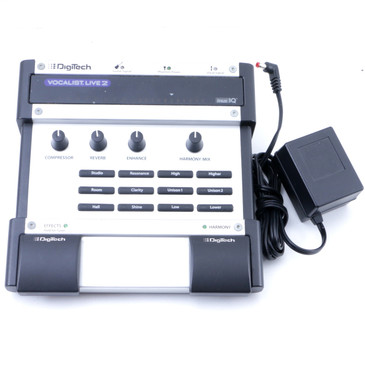 Digitech Vocalist Live 2 Vocal Effects Pedal & Power Supply P-07544