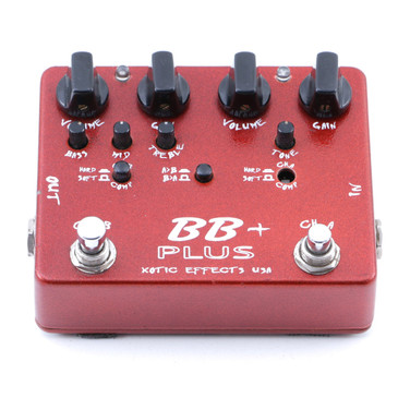Xotic Effects BB Plus Overdrive Guitar Effects Pedal P-07565
