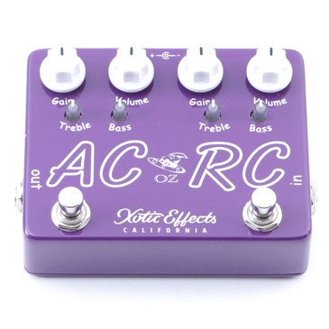 Xotic Effects AC/RC OZ Overdrive Guitar Effects Pedal P-07563