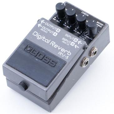 Boss RV-5 Digital Reverb  Guitar Effects Pedal P-07567