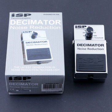 ISP Decimator Noise Gate Guitar Effects Pedal P-07588