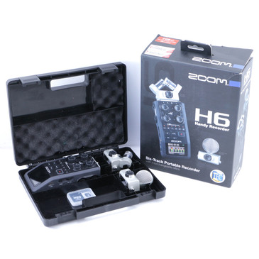 Zoom H6 Handy Recorder w/ MSH-6 & XYH-6 Microphones OS-8417