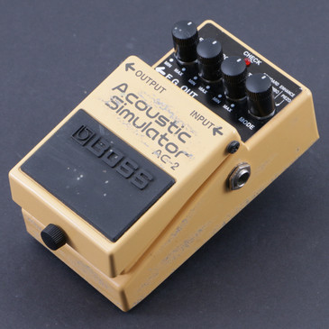 Boss AC-2 Acoustic Simulator Guitar Effects Pedal P-07609