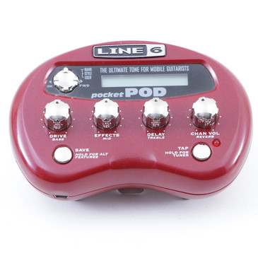 Line 6 Pocket Pod Guitar Multi-Effects Processor P-07607