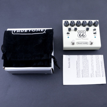 Truetone Route 66 V3 Overdrive / Compression Guitar Effects Pedal P-07619