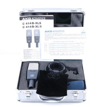 AKG C414B XLS Condenser Multi-Pattern Microphone MC-3394