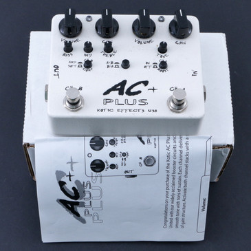 Xotic Effects AC Plus Overdrive Guitar Effects Pedal P-07632