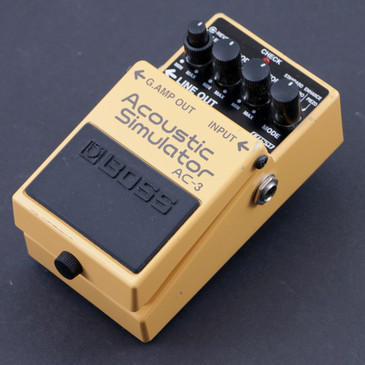 Boss AC-3 Acoustic Simulator Guitar Effects Pedal P-07649
