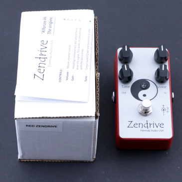Hermida Audio Zendrive Overdrive Guitar Effects Pedal P-07648