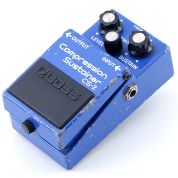 1982 Boss Japan CS-2 Compression Sustainer Guitar Effects Pedal P-07638