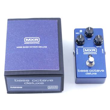 MXR M288 Bass Octave Deluxe Bass Guitar Effects Pedal P-07635
