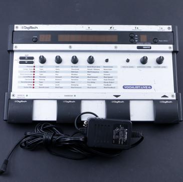 Digitech Vocalist Live 4 Vocal Multi-Effects Pedal P-07658