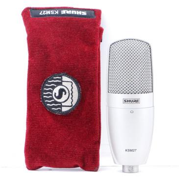 Shure KSM27 Condenser Cardioid Microphone MC-3398