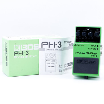 Boss PH-3 Phase Shifter Guitar Effects Pedal w/ Box P-07664