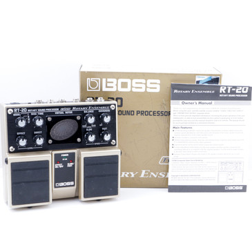 Boss RT-20 Rotary Ensemble Guitar Effects Pedal w/ Box P-07662
