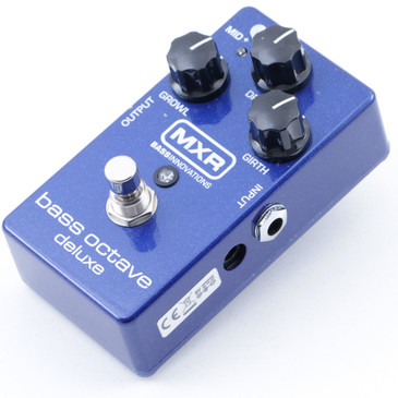 MXR M288 Bass Octave Deluxe Bass Guitar Effects Pedal P-07682