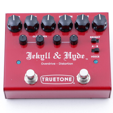 Truetone Jekyll & Hyde V3 Overdrive / Distortion Guitar Effects Pedal P-07676