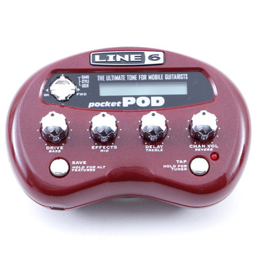 Line 6 Pocket Pod Guitar Multi-Effects Processor P-07677
