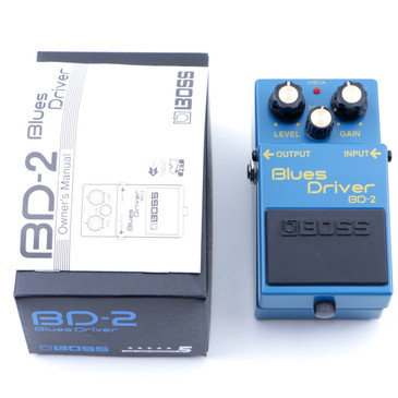 Boss BD-2 Blues Driver Overdrive Guitar Effects Pedal P-07675