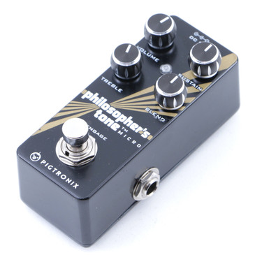 Pigtronix Philosophers Tone Micro Compression Guitar Effects Pedal P-07690
