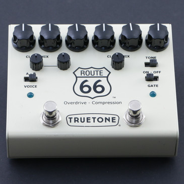 Truetone Route 66 V3 Compression / Overdrive Guitar Effects Pedal P-07713
