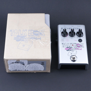 TC Helicon Talk Box Synth Vocal Effects Pedal P-07771