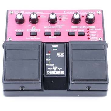Boss RC-20 Loop Station Looper Guitar Effects Pedal P-07880