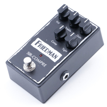 Friedman Sir-Compre Compression Guitar Effects Pedal P-07901