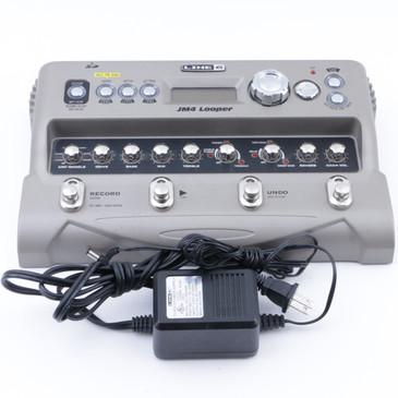 Line 6 JM4 Looper Guitar Effects Pedal & Power Supply P-07892