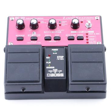 Boss RC-20 Loop Station Looper Guitar Effects Pedal P-07932