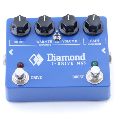 Diamond J-Drive MK3 Overdrive Guitar Effects Pedal P-07931