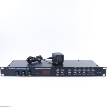 Alesis MidiVerb III 16-Bit Guitar Multi-Effects Processor & Power Supply P-07941
