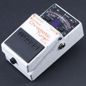 Boss TU-2 Chromatic Tuner Guitar Effects Pedal P-07987