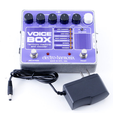 Electro-Harmonix Voice Box Vocal Effects Pedal & Power Supply P-08002