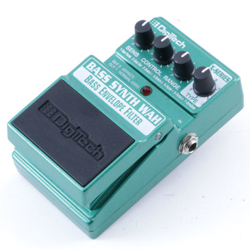 Digitech Bass Synth Wah Envelope Filter Bass Guitar Effects Pedal P-08024