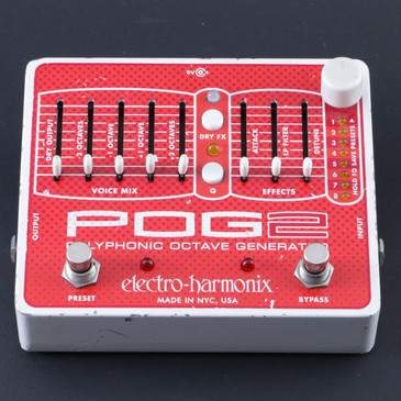 Electro-Harmonix POG2 Polyphonic Octave Generator Guitar Effects Pedal P-08039