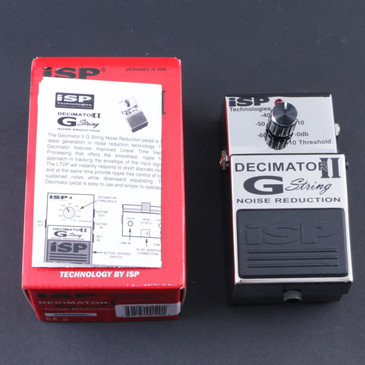 ISP Decimator II G-String Noise Gate Guitar Effects Pedal P-08037