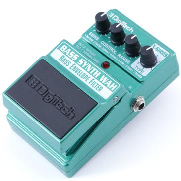 Digitech Bass Synth Wah Envelope Filter Bass Guitar Effects Pedal P-08031