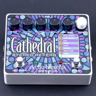 Electro-Harmonix Cathedral Reverb Guitar Effects Pedal P-08038