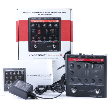 TC Helicon Harmony G Vocal Effects Pedal & Power Supply P-08028