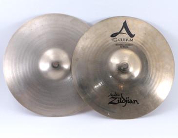 "Zildjian 14"" A Custom Hi Hat Pair Top/Bottom"