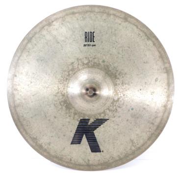 """Zildjian 20"""" K Ride Cymbal 2402g"""