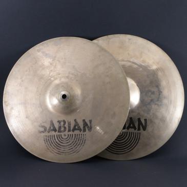 "Sabian 14"" AAX Stage HiHat Top & Bottom Cymbal 1100g/1390g"
