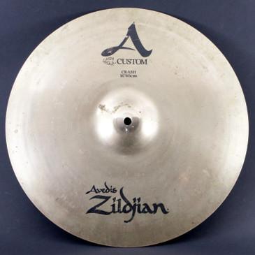 """Zildjian 16"""" A Custom Crash Cymbal 1066g"""