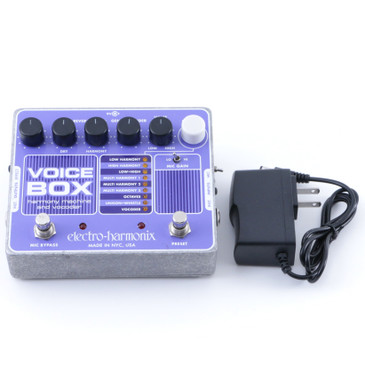 Electro-Harmonix Voice Box  Vocal Effects Pedal P-08049