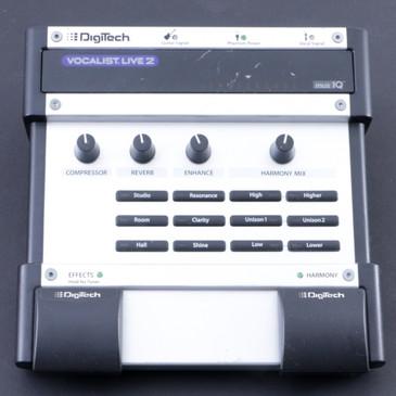 Digitech Vocalist Live 2 VL2  Vocal Effects Pedal P-08048