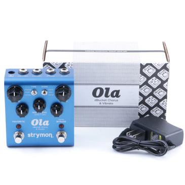 Strymon Ola Chorus / Vibrato Guitar Effects Pedal P-08045